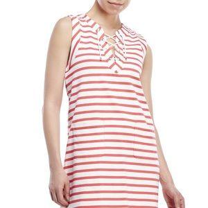 Kate Spade Breton Lace Up Sleeveless Dress